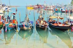 Vissersboot in Thailand Stock Foto's