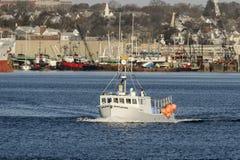 Vissersbootslaaf Driver Royalty-vrije Stock Afbeeldingen