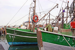 Vissersboten Stock Afbeeldingen