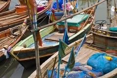 Vissersboten in de Haven Stock Fotografie