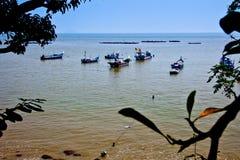 Vissersboten, Maleisië Stock Afbeeldingen