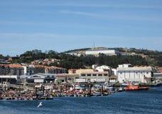 Vissershaven van Riveira stock foto