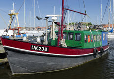 Vissersvaartuig het UK 238 Royalty-vrije Stock Afbeeldingen