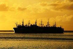 Vissersvaartuigen Stock Foto