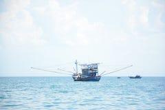 Vissersvaartuigen - het eiland van Cu Lao Cham Royalty-vrije Stock Afbeelding