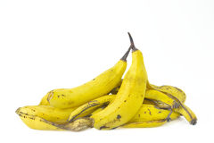 Vissna bananpeels. Royaltyfria Foton