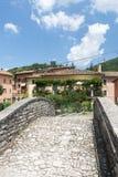 Visso (gränser, Italien) Fotografering för Bildbyråer