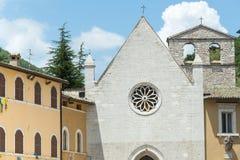 Visso (Marches, Italie) Photos libres de droits