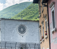 Visso (Marches, Italy) Royalty Free Stock Image