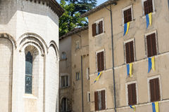 Visso (Marches, Italy) Royalty Free Stock Photo