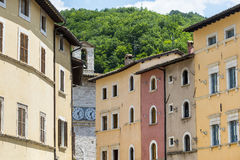Visso (Marches, Italy) Stock Photos