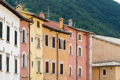 Visso (Marches, Italy) Stock Images