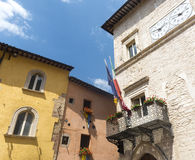 Visso (Marches, Italy) Stock Image
