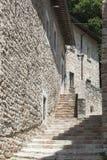 Visso (Marsen, Italië) Royalty-vrije Stock Afbeeldingen