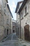 Visso (marzos, Italia) Foto de archivo libre de regalías