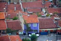 Vista à cidade de Afyonkarahisar do castelo Fotos de Stock