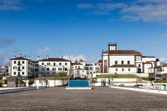 Vista à cidade de Ponta Delgada Fotografia de Stock
