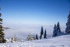 Vista à névoa Imagem de Stock