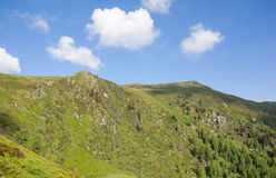 Vista à parte superior do Mt Mirnock 2 110m Fotos de Stock Royalty Free