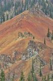 Vista áspera da montanha em milhão estradas do dólar Imagem de Stock