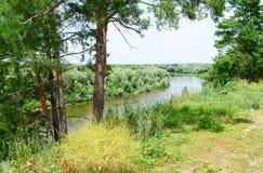 Vista ótimo no Don River Imagem de Stock