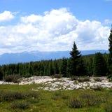 Vista βουνών Στοκ Φωτογραφία