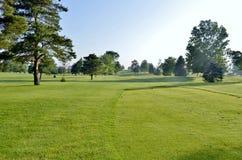Vista γηπέδων του γκολφ Στοκ εικόνες με δικαίωμα ελεύθερης χρήσης