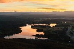 Vista λιμνών Στοκ εικόνες με δικαίωμα ελεύθερης χρήσης
