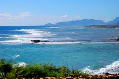 Vista παραλιών Kauai στοκ εικόνες
