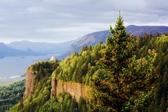vista σπιτιών φαραγγιών της Κο&lamb Στοκ Εικόνες