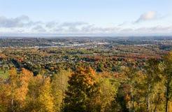 Vista φθινοπώρου στοκ φωτογραφία