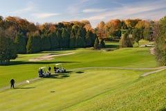 Vista 01 di golf Fotografia Stock Libera da Diritti