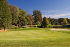 Vista 05 di golf Fotografie Stock