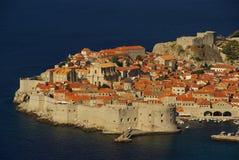 Vista 07 di Dubrovnik Fotografie Stock Libere da Diritti