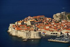 Vista 09 di Dubrovnik Fotografia Stock