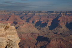 Vista 1 del grande canyon Fotografie Stock
