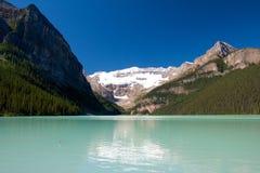 Vista 1 del Lake Louise Fotografia Stock