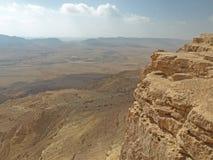 Vista 3 del cratere Fotografia Stock