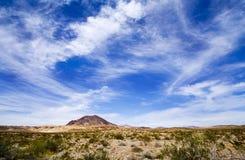 Vista 3 del deserto Fotografia Stock Libera da Diritti