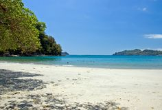 Vista 3 della spiaggia Immagini Stock Libere da Diritti