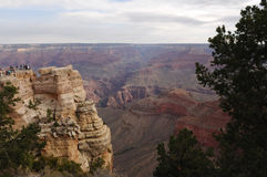 Vista 7 del grande canyon Immagine Stock Libera da Diritti