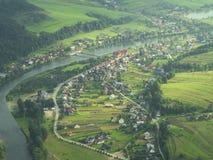 Vista aérea Imagem de Stock Royalty Free
