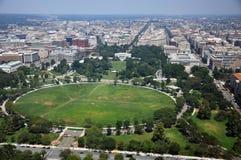 Vista aérea da casa branca Imagens de Stock
