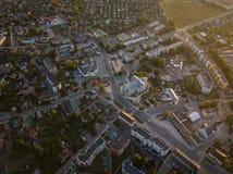 Vista aérea da cidade imagem de stock royalty free