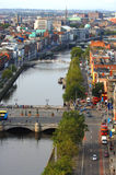 Vista aérea da cidade Fotos de Stock