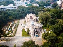 Vista aérea da cidade Bangalore na Índia imagem de stock royalty free