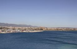 Vista aérea da cidade de Palma de Mallorca imagem de stock
