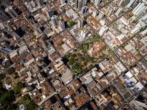 Vista aérea da cidade de Ribeirao Preto em Sao Paulo, Brasil fotografia de stock royalty free