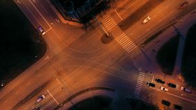 Vista aérea da cidade filme