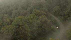 Vista aérea da montanha Goc vídeos de arquivo